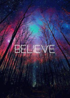 Believe in all that can be, a miracle starts whenever you dream