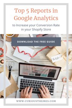 We get it there is a LOT of information in Google Analytics all about your traffic but it can seem overwhelming and you aren't sure what is the most important information to be paying attention to. That's why we created this free guide all about the top five reports we recommend looking at and how to easily automate these reports. Google Analytics Report, Data Analytics, Dashboards, Data Visualization, Improve Yourself, Numbers, Studio, Top, Tutorials