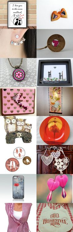 Valentine Love by Suzanne Perry on Etsy--Pinned with TreasuryPin.com