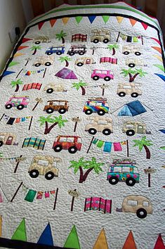 house of spoon: camping quilt - babyroom