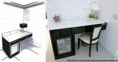 Jessica pinna - ard3sign - design mobilier - bureau hôtel Aston Nice - création meuble