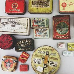 Tins>>>>>> yes, I'm also obsessed with tins...