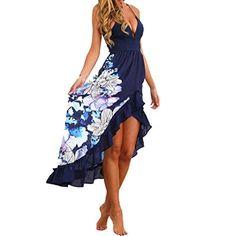 Hot Sale ! Fashion Beautiful Women Summer Bohemian Draped Sleeveless Dress, Ninasill Exclusive Long Maxi Party Cocktail Dress Beach Sundress - My Free Spirit Boutique