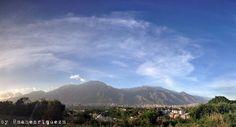El Ávila de nubes veteadas