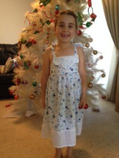 Tash and her christmas dress