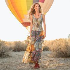 UNTAMED SPIRIT DRESS: Sundance Catalog