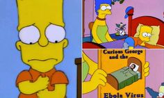 How The Simpsons predicted US Ebola outbreak in 1997