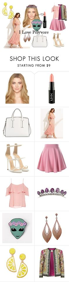 """""""Friendship in out of space"""" by gift2say ❤ liked on Polyvore featuring NYX, French Connection, Giuseppe Zanotti, BB Dakota, Celebrate Shop and Etro"""