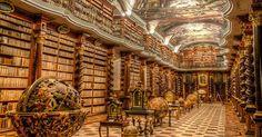 Toto je najkrajšia knižnica sveta. Keď zistíte, kde sa nachádza budete ju chcieť navštíviť tiež! Knižnica Klementinum. Najkrajšia knižnica sveta v Prahe
