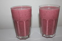 Nydelig og sunn smoothie (LAVKARBO) (Charlottes verden- Forlovet og Lykkelig)