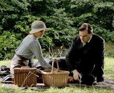 The Bates picnic in Scotland Season IV Downton Abbey