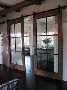 Sliding Barn Doors for your Home - View From The Front Porch