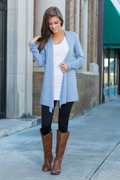 """Undeniable Cardigan, Serenity""This cardigan has been a best seller for a long time now and we totally know why! If you ever put this cardigan on, you may never take it off!  #shopthemint #newarrivals"