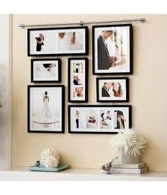 Wedding photo wall