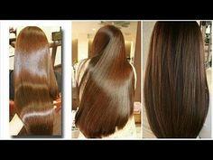 Obter um cabelo super SEDOSO e BRILHANTE em 1 dia/ DIY Máscara capilar/ ...