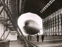 Hindenburg maiden arrival at Rio via Todd Neitring