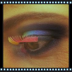 Colorfull make-up