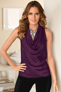 Oh. This. Top. So pretty. Love it with a statement necklace too! #StitchFix