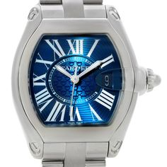 Cartier Roadster Mens XL 100th Anniversary Watch W6206012