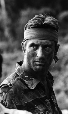 """Robert De Niro in """"The Deer Hunter"""", by Michael Cimino. Don't know if it can be call a """"great"""" movie. But it definitely put you through an experience you won't forget..."""
