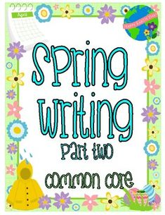 This spring writing--part 2--activity packet is filled with wonderful writing prompts and story starters to encourage your students to write.Each page has the Common Core Standard for Kindergarten, First Grade & Second Grade at the bottom.There are prompts for narrative, opinion, and informative... First Grade, Second Grade, Under The Rainbow, Bulletin Board Display, Story Starters, Ways To Recycle, Spring Has Sprung, Common Core Standards, Rubrics