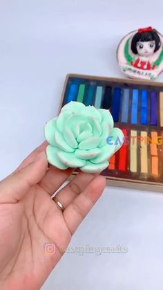 Polymer Clay Flowers, Polymer Clay Crafts, Diy Clay, Handmade Polymer Clay, Cute Polymer Clay, Cute Clay, Handmade Dolls, Clay Projects, Diy Craft Projects