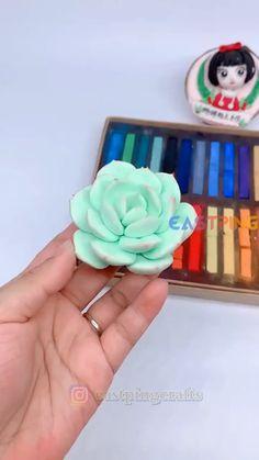 Cute Polymer Clay, Cute Clay, Polymer Clay Flowers, Polymer Clay Miniatures, Polymer Clay Crafts, Diy Clay, Dollhouse Miniatures, Creative Crafts, Diy And Crafts