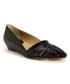 Another great find on #zulily! Black Who Leather Sandal #zulilyfinds