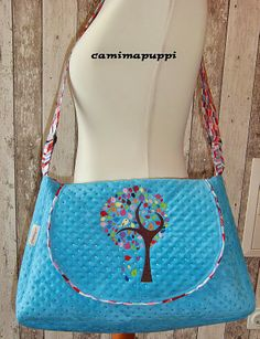Klappentasche by Camimapuppi, pattern by farbenmix.de #sewing #bag #tasche #nähen #taschenspieler2 #farbenmix
