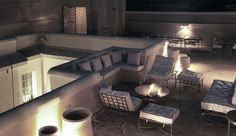 Riad Joya: The quiet roof terrace has views across the medina and to the Atlas Mountains in the distance.