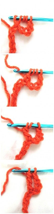 How to #Crochet Four Basic Stitches Taller than the Treble