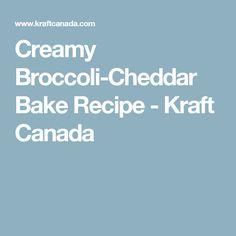 Creamy Broccoli-Cheddar Bake Recipe - Kraft Canada