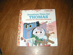 Breakfast-Time for Thomas by Rev. W. Awdry (1998) ~~ for sale at Wenzel Thrifty Nickel eCRATER store