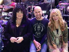 Ann & Nancy Wilson of Heart with James Dylan of Jason Bonham's Led Zeppelin Experience ( JBLZE ) - Heartbreaker Tour