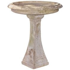 English Regency Style 1920's Bird Bath   From a unique collection of antique and modern fountains at https://www.1stdibs.com/furniture/building-garden/fountains/