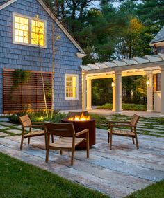fire pit | LDa Architecture and Interiors
