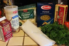 ¼ Cup of Butter Fresh Parsley ½ Pound of Jumbo Shrimp – Uncooked, deveined 1 Pound of Penne Pasta 4 ounces butter 1 pint heavy cream 2 Tablespoons of Bread Crumbs 1 Cup of Parmesan Cheese 1 Roma Tomato Diced Baked Parmesan Shrimp Recipe, Baked Shrimp Recipes, Best Seafood Recipes, Shrimp Recipes For Dinner, Healthiest Seafood, Best Italian Recipes, Seafood Dinner, Restaurant Recipes, Fish Recipes