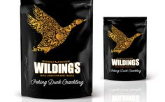 Wilding's Duck Crackling on Packaging of the World - Creative Package Design…