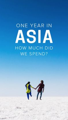 Curious to know how much one year of travel in Asia costs? Here's how much we spent in 12 months of backpacking through 10 countries in Eurasia, complete with a country-by-country breakdown, average costs, and tips on how you can travel for a year for eve Travel Advice, Travel Guides, Travel Tips, Slow Travel, Travel For A Year, Backpacking Asia, Hiking Europe, Asia Travel, Budget Travel