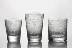 The detail is in the etched bohemian handmade crystal