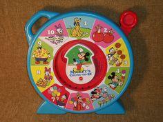 Mattel's See n Say Mickeys Count to 10 Disney by TKSPRINGTHINGS, $16.95