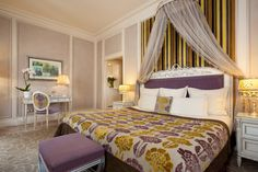 Spacious Deluxe Rooms at Hotel Balzac, 5-star accommodation in central Paris, near Champs-Elysées.