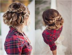 Hair by Hair and Makeup by Steph | Photography by Ciara Richardson via her blog