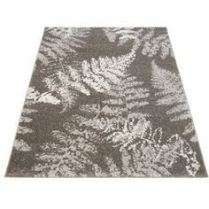 Buy Monte Carlo Fern Rug 160x230cm - Grey at Argos.co.uk, visit Argos.co.uk to shop online for Rugs and mats