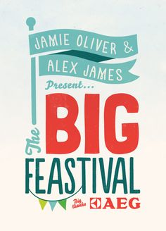 The Big Feastival Identity by Superfantastic
