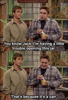 I love Jack and Eric. Most hilarious friendship ever.
