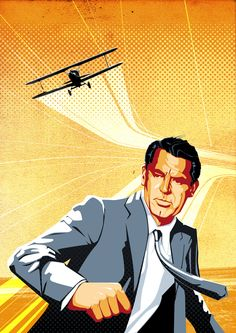 NORTH BY NORTHWEST, by Alfred Hitchcock