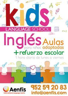 Que tus hijos aprendan idiomas.  ¡Clases de idiomas para niños!