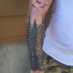 65 Impressive Tree Tattoos - Family Trees , Modern Life Designs