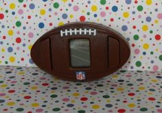Burger King Happy Meal #NFL #Football Hand-held Video #Game #teamsellit